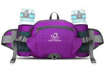 WATERFLY Pack with Water Bottle Holder Hiking Waist Pack Bag Running  Outdoor Spor B00QHXTGL8