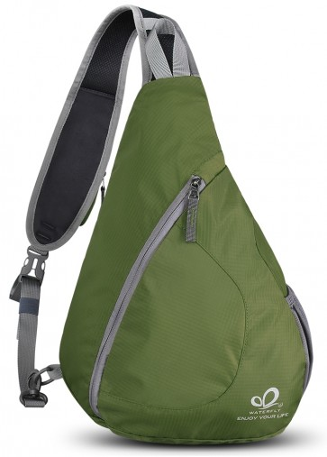 WATERFLY Sling Chest Backpacks Bags Crossbody Shoulder Triangle Packs Daypacks B01E3QWSAG
