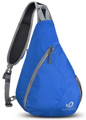WATERFLY Sling Chest Backpacks Bags Crossbody Shoulder Triangle Packs Daypacks B01E3QWVZS