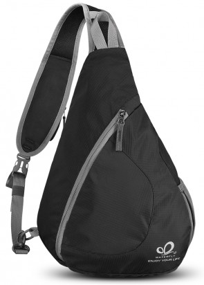 WATERFLY Sling Chest Backpacks Bags Crossbody Shoulder Triangle Packs Daypacks B01E3QWVGC